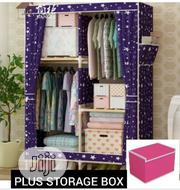 Wooden Wardrobe PLUS Storage Box | Furniture for sale in Abuja (FCT) State, Gwarinpa