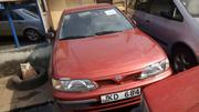 Nissan Almera 2000 1.8 Automatic Red | Cars for sale in Lagos State, Apapa