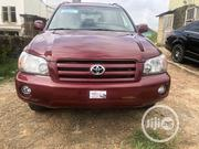 Toyota Highlander 2006 Limited V6 4x4 Red | Cars for sale in Oyo State, Ibadan South West