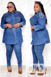 2 Pieces Turkey Jean Jacket and Trouser Available in Sizes | Clothing for sale in Lagos State, Lagos Mainland