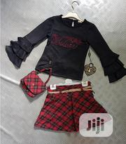 Turkey 3 in 1 Pieces Top, Skirt and Purse for Lovely Ones | Children's Clothing for sale in Lagos State, Isolo