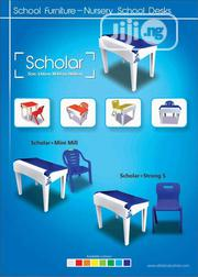 Plastic School Desk With Open And Close Cover | Children's Furniture for sale in Lagos State, Mushin