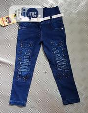 Girls Cool Jean Trouser For 5yrs | Children's Clothing for sale in Lagos State, Isolo