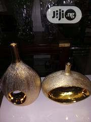 Golden Ornament Vases | Home Accessories for sale in Ogun State, Abeokuta South