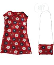Turkey Girls 2pieces Dress With Bag - 5-8yrs | Children's Clothing for sale in Lagos State, Isolo