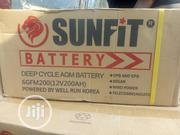 200ah Sunfit Battery | Solar Energy for sale in Lagos State, Ojo