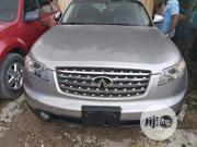 Infiniti FX35 2005 Base 4x4 (3.5L 6cyl 5A) Silver | Cars for sale in Lagos State, Amuwo-Odofin