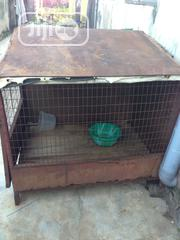 Used Twin Iron Dog Cage For Sale | Pet's Accessories for sale in Lagos State, Egbe Idimu