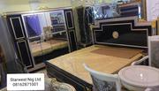 Versace Bed With Wardrob | Furniture for sale in Lagos State, Lekki Phase 1