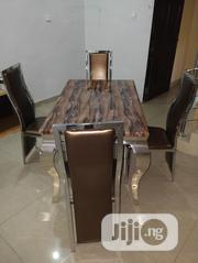 Super Quality New Four Setter Marble Dining Table | Furniture for sale in Abuja (FCT) State, Gwarinpa