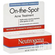 Neutrogena On-the-spot Acne Treatment With Benzoyl Peroxide (0.75oz) | Skin Care for sale in Lagos State, Lagos Mainland