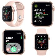 Apple Watch Series 5 - Gold 40mm/44mm Available | Smart Watches & Trackers for sale in Lagos State, Ikeja