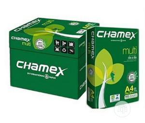 Brand New Cartoon Of Chamex A4 Paper