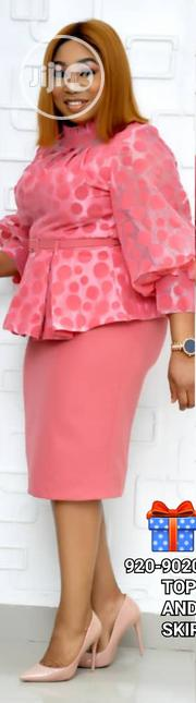 Beautiful Skirt And Blouse | Clothing for sale in Lagos State, Ikeja