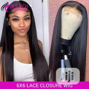24 Inches Brazillian Human Hair With Closure | Hair Beauty for sale in Lagos State, Ikeja