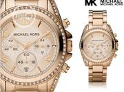 Michael Kors Unisex Rose Gold Wristwatch / Wrist Watch | Watches for sale in Lagos State, Lagos Mainland