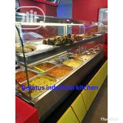 Curved Glass Food Display Warmer | Restaurant & Catering Equipment for sale in Lagos State, Ojo
