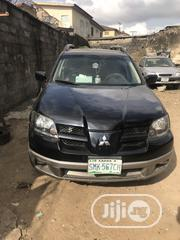 Mitsubishi Outlander 2006 2.4 LS 4WD Black   Cars for sale in Lagos State, Mushin