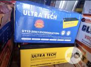 Original Ultra Tech Indian Battery 12v 200ah | Solar Energy for sale in Lagos State, Lagos Mainland