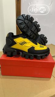 Quality Unisex Canvas Shoes in Yellow and Black | Shoes for sale in Lagos State, Lagos Island
