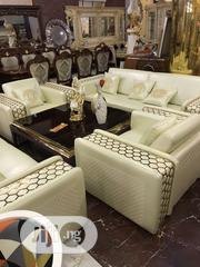 New Design Quality 7 Seaters Leather Sofa | Furniture for sale in Lagos State, Lagos Mainland