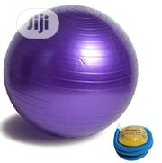 Exercise/Gym Ball With Pump   Sports Equipment for sale in Lagos State, Lagos Mainland