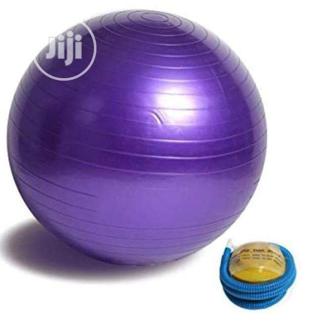 Exercise/Gym Ball With Pump