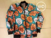 Ankara Varsity Jacket -Adult | Clothing for sale in Lagos State, Surulere