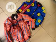 Ankara Varsity Jacket -Kids | Clothing for sale in Lagos State, Surulere