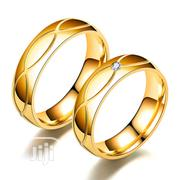Stainless Steel Couple's Diamond Set Ring | Jewelry for sale in Abuja (FCT) State, Dutse