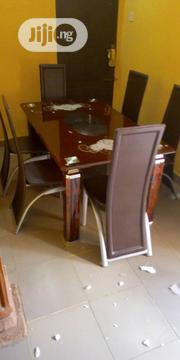 Glass Dining Table and Chair   Furniture for sale in Lagos State, Ojo