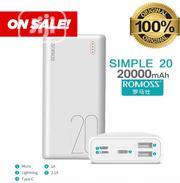 Simple-20 Romoss Complete 20,000mah Power Bank With Multiple Ports | Accessories for Mobile Phones & Tablets for sale in Lagos State, Ikeja