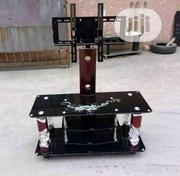 Glass Tv Stand With Hanger   Furniture for sale in Lagos State, Ojo