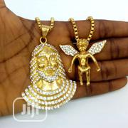 Jesus Angel Piece Pendant Chains | Jewelry for sale in Lagos State, Lagos Island