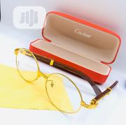 Cartier Oval Frame Gold Prescription Glass | Clothing Accessories for sale in Lagos State, Lagos Island
