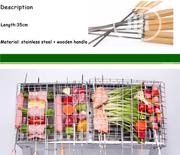 Barbecue Skewers 10 Pieces With Wooden Handle | Kitchen & Dining for sale in Abuja (FCT) State, Wuse 2