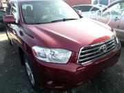 Toyota Highlander 2009 Limited Red | Cars for sale in Lagos State, Apapa