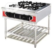 Industrial Gas Cooker 4 Burner Without Oven | Restaurant & Catering Equipment for sale in Lagos State, Ojo