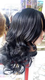Black Curly Wig   Hair Beauty for sale in Rivers State, Port-Harcourt