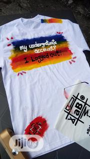 Handmade Custom Designed T-shirt | Clothing for sale in Rivers State, Port-Harcourt