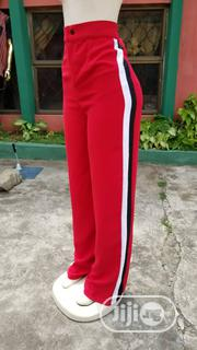 Side Stripes Palazzo For Ladies | Clothing for sale in Abuja (FCT) State, Jahi