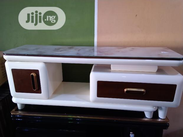 Marble Top Tv Stand and Adjustable