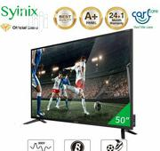 """Syinix 50"""" Inch Android 4K UHD Smart LED TV - 50A710U- Black   TV & DVD Equipment for sale in Abuja (FCT) State, Central Business District"""