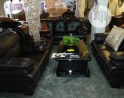Geniune Leather Sofa | Furniture for sale in Lagos State, Victoria Island