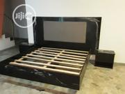 Floating Glossy Bed Frame With Mattress For Sale | Furniture for sale in Lagos State, Victoria Island