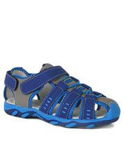M Fangei Blue Grey Sandals for Boys | Children's Shoes for sale in Lagos State, Surulere