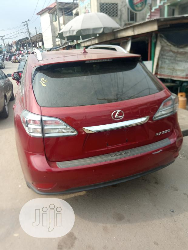 Archive: Lexus RX 2012 350 FWD Red