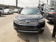 Toyota Highlander SE 2011 Black | Cars for sale in Lagos State, Surulere