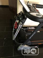German 3hp Treadmill With Massager and Dumbell   Sports Equipment for sale in Lagos State, Ikotun/Igando