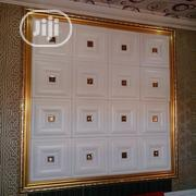 Beautiful Stone Studded Leather 3D Panels | Building Materials for sale in Edo State, Benin City